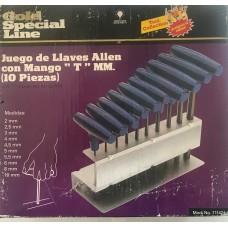 JGO LLAVES ALLEN M/T 10P/MMGSL--------Mod. 711472