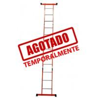 ESCALERA MULTIPOSICIONES ACERO 3E C/ CHAROLA--------------Mod. 333613