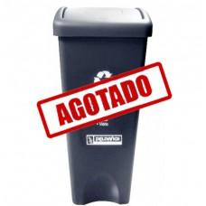 BOTE DE BASURA RECTANGULAR TAPA COLUMPIO 53 LITROS--------Mod. 703351
