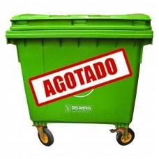 CONTENEDOR RECTANGULAR PARA BASURA 1100 LITROS
