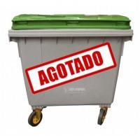 CONTENEDOR RECTANGULAR PARA BASURA 1100 LITROS---Mod. 703377