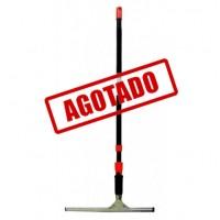 JALADOR PARA VIDRIOS 350 MM MANGO TELESCÓPICO NEGRO PARA VIDRIOS 350MM