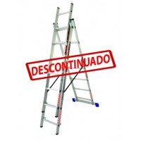 ESCALERA CONVERTIBLE ALUMINIO 3X7--------Mod. 706605