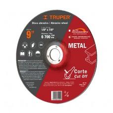 """DISCO DE CORTE METAL 9"""" USOS GEN--------Mod. 012564"""