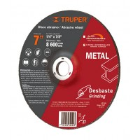 "DISCO DESBASTE METAL 7"" USOS--------Mod. 012567"